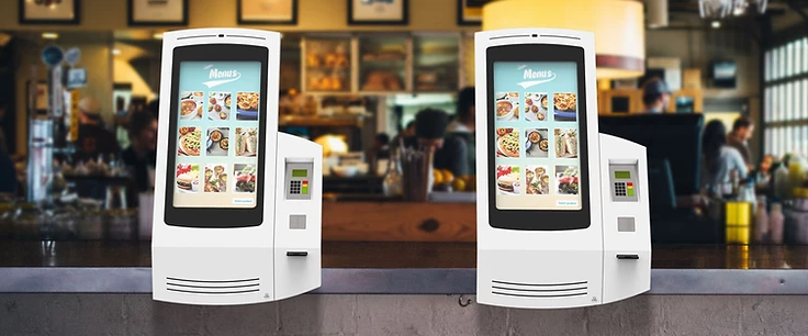 Self-Service Ordering Kiosks in High Demand.