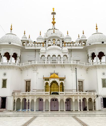Sikh Gurdwara Exterior