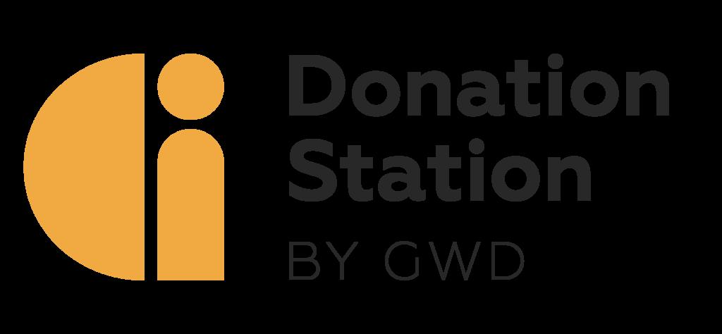 Donation Station by GWD logo